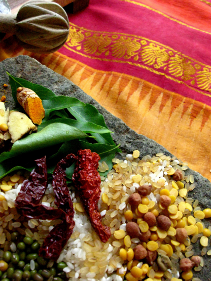 Indian Veggie Delights - Colors of Holi
