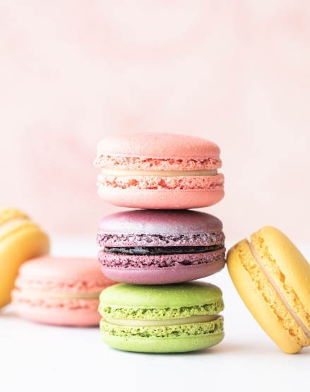 Macarons: Oster-Special » Sunday, March 29, 2020 at 12 h
