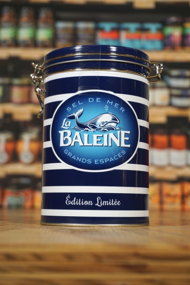 La Baleine - Coarse Seasalt - without iodine - for mill- 1000 g - Gift Box