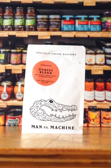 Man versus Machine NUDIST BLEND Seasonal Espresso Blend, 250-g-Pack