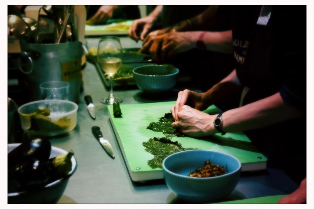 Inside Aleppo: Syrische Küche vegan Donnerstag, 23. Januar 2020 um 19 Uhr