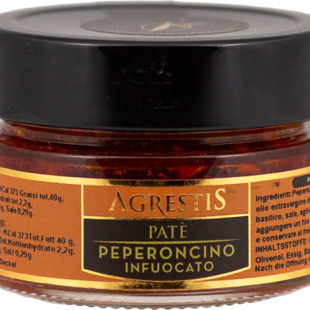 Agrestis - Pate Peperoncino Infuocato, 100-g-glass