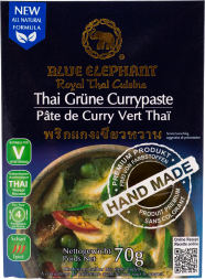 Blue Elephant - Green Curry Paste, 70g pack
