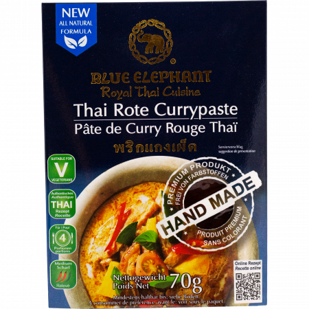 Blue Elephant - Red Curry Paste, 70g pack