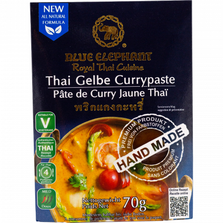 Blue Elephant - Yellow Curry Paste, 70g pack