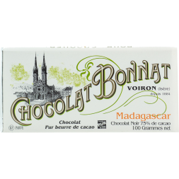 Bonnat - Madagascar 75%, 100g bar