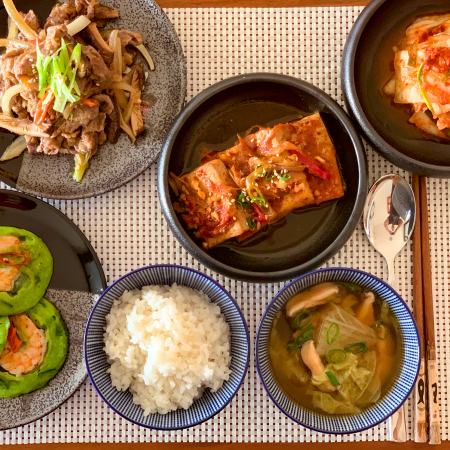 DIY Korean food in English