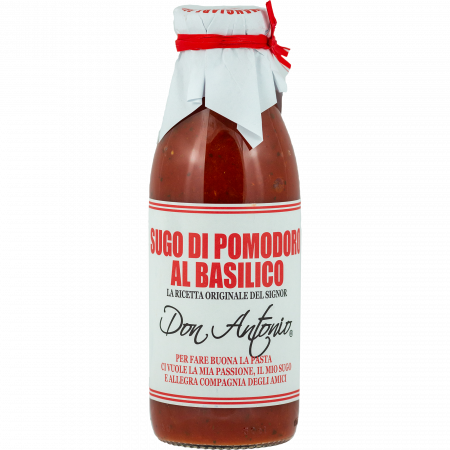 Don Antonio Tomato Sauce with basil, 500-g-Bottle