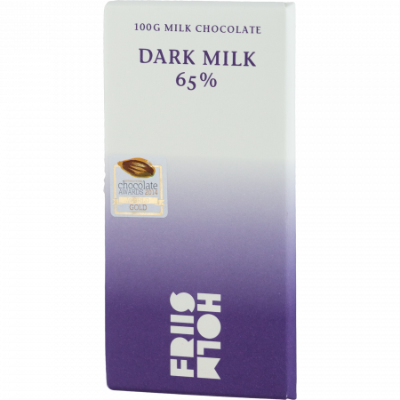 Friis-Holm - Dark Milk 65%, 100-g-bar