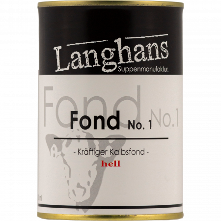 Langhans - Kalbsfond No. 1 Veal stock,  400-g-can