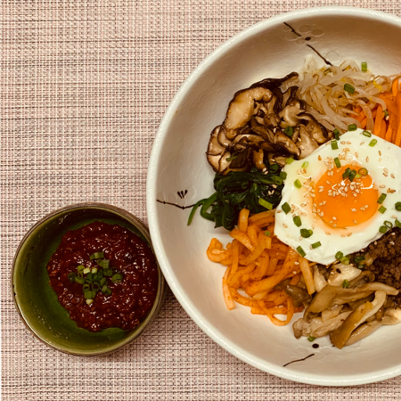 LIVE ONLINE Bibimbap Masterclass in English » Thursday, May 27, 2021 at 19 h