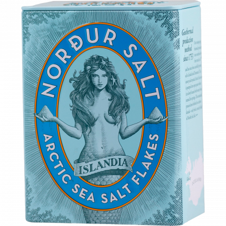 Nordur Salt - Arctic seasalt flakes - 250 g - Metal-Box