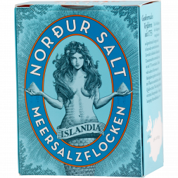 Nordur Salt - Arctic seasalt flakes - 250 g - Pack
