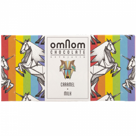 Omnom Caramel + Milk Chocolate, 60-g-Bar