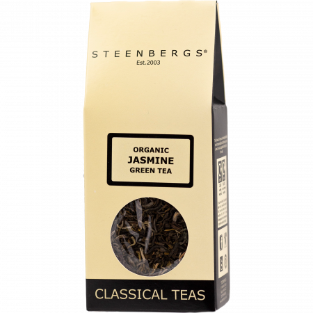 Steenbergs - Classical Teas - Jasmine Green Tea - 80 g - Pack