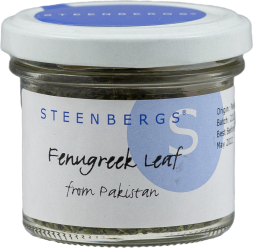STEENBERGS - Fenugreek Leaf from Pakistan - 9g - Glas