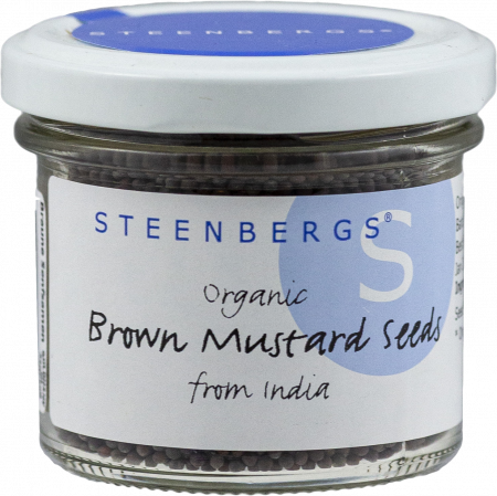 Steenbergs - Standard - Brown Mustard Seeds - 68 g - Glas