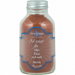 Terre Exotique - Fine red salt - 300 g - Bottle
