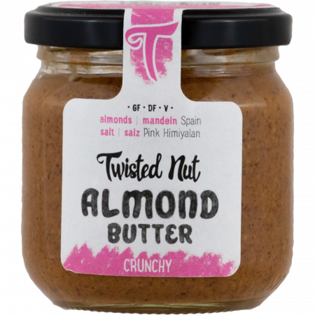 Twisted Nut - Almond Butter Crunchy, 200g Glas